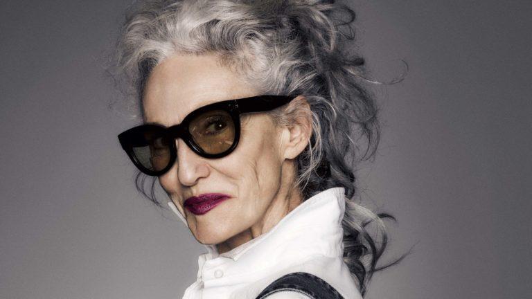 older person posing